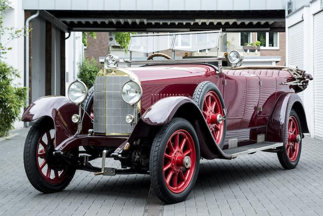 1924 Mercedes 10/40/65hp Sport Phaeton Chassis no. 27434 Engine no. 55905