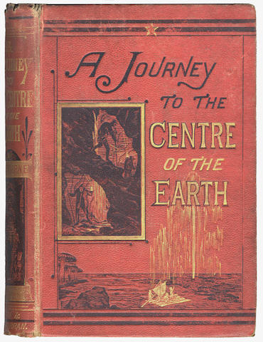 VERNE (JULES) A Journey to the Centre of the Earth, FIRST EDITION IN ENGLISH, Griffith and Farran, 1872