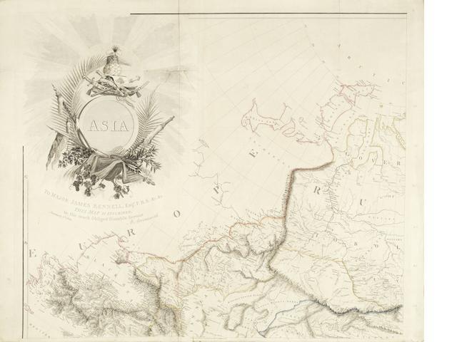 ARROWSMITH (AARON) Asia, A. Arrowsmith, 1801