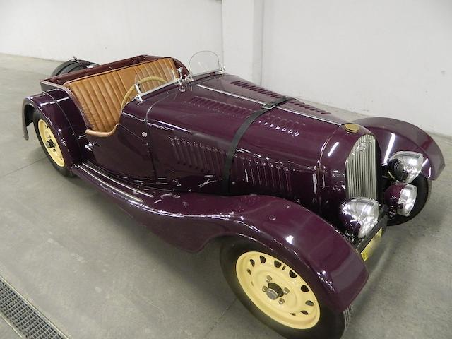 1938 Morgan 4/4 Roadster  Chassis no. 468 Engine no. MA 456