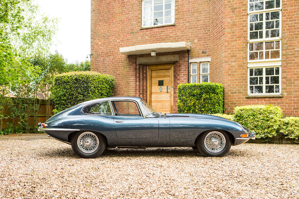 The ex-Michael Head CBE, 22nd Coupé built and the property of Quentin Willson,1961 Jaguar E-Type Series 1 'Flat Floor' 3.8-Litre Coupé  Chassis no. 860022 Engine no. R2449-9