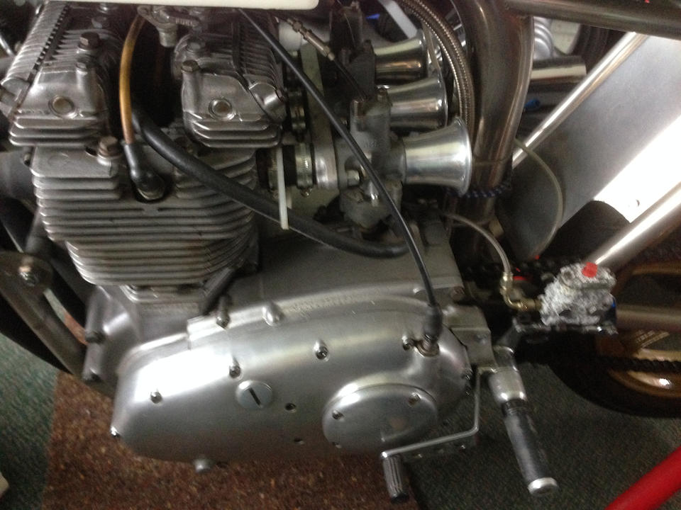 Property of a deceased's estate,Triumph Trident 'Trackmaster' Racing Motorcycle Engine no. GD00177 T150T