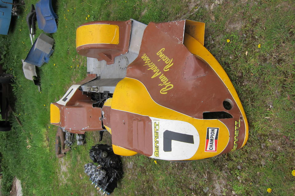 The ex-Dick Hawes,1976 BRM-Yamaha Racing Sidecar Outfit (BRM P205)