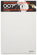 James Bond: Six sheets of Eon Productions headed notepaper, 6