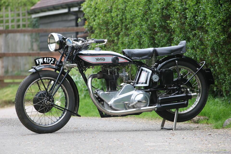 1928 Norton 490cc CS1 Frame no. 32623 Engine no. CS39055