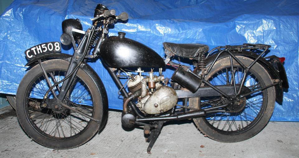 1946 James 122cc ML Frame no. 878 Engine no. AAA28199A