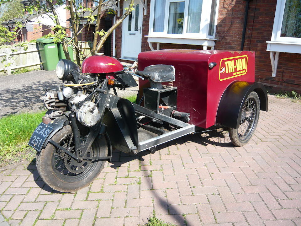 1949 Turner Manufacturing  168cc 'Bi-Van' Delivery Tricycle Frame no. 2103 Engine no. 2103