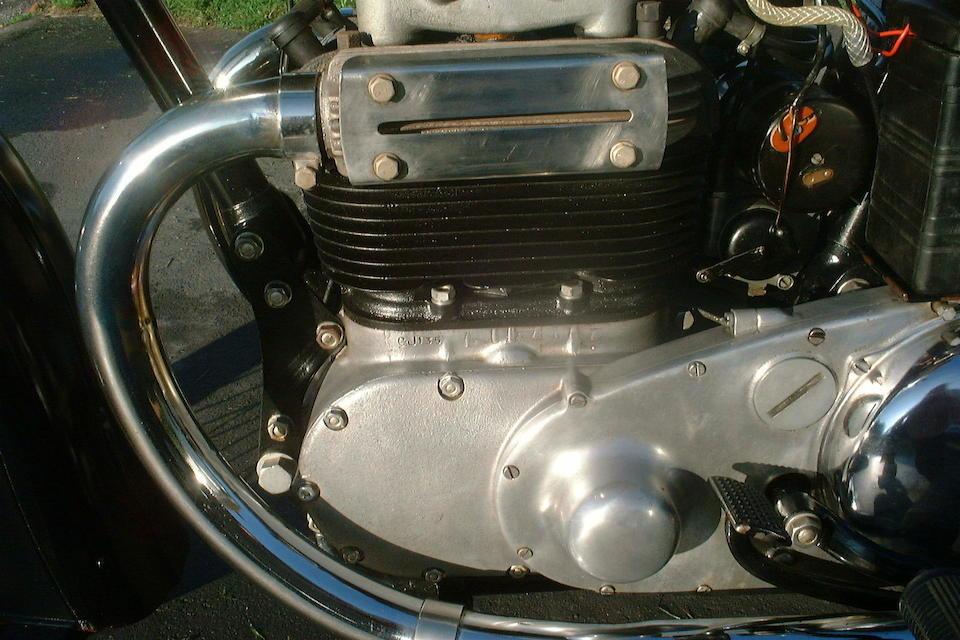1947 Ariel 998cc Model 4G Square Four Frame no. XP1800 Engine no. CJ135