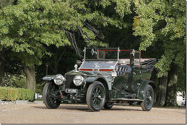 1912 Rolls-Royce 40/50hp Silver Ghost Cabriolet  Chassis no. 2145 Engine no. 47D