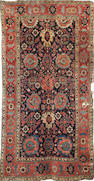 An early 19th century North West Persian carpet, 364cm x 192cm