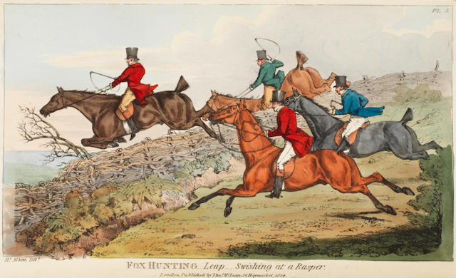ALKEN (HENRY) The National Sports of Great Britain, first octavo edition, for Thomas M'lean, 1825