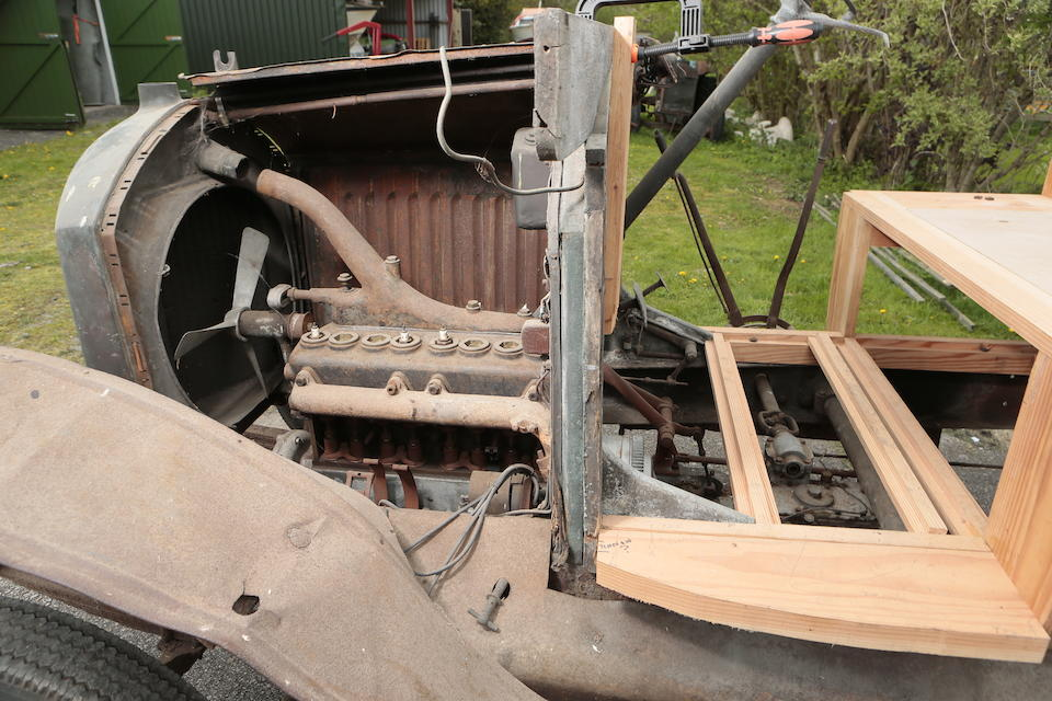 c.1920 Rochet-Schneider  Type 20000 Flat-bed Lorry Project  Chassis no. 22277