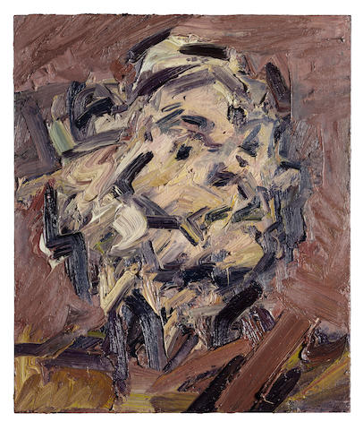 Frank Auerbach (British, born 1931) Head of J.Y.M. 1992