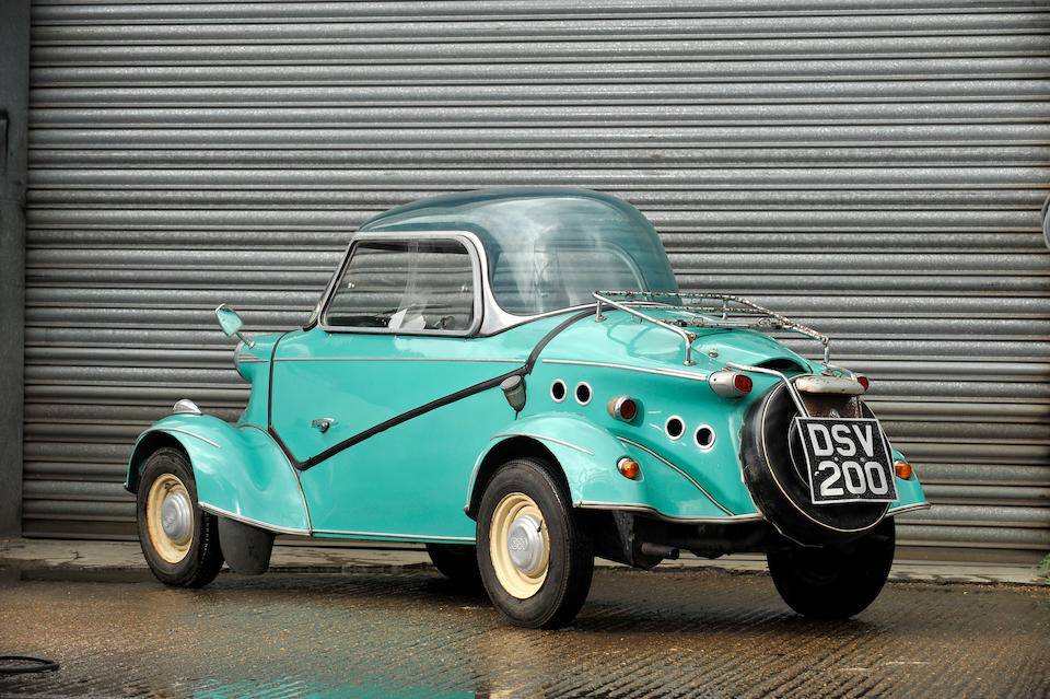 Property of a deceased's estate,1958 Messerschmitt/FRM TG500 Microcar  Chassis no. 20578 Engine no. 2763