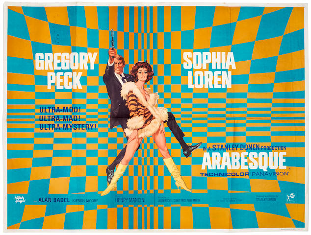 Arabesque, Universal Pictures, 1966,