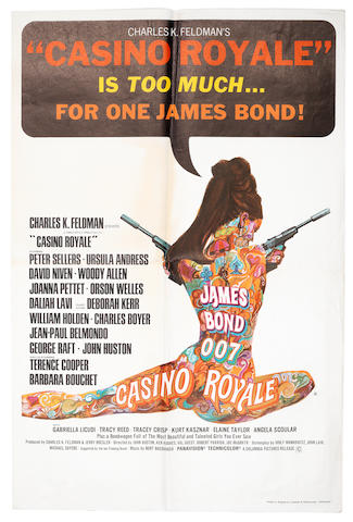 James Bond: Casino Royale, Columbia Pictures, 1967, 2