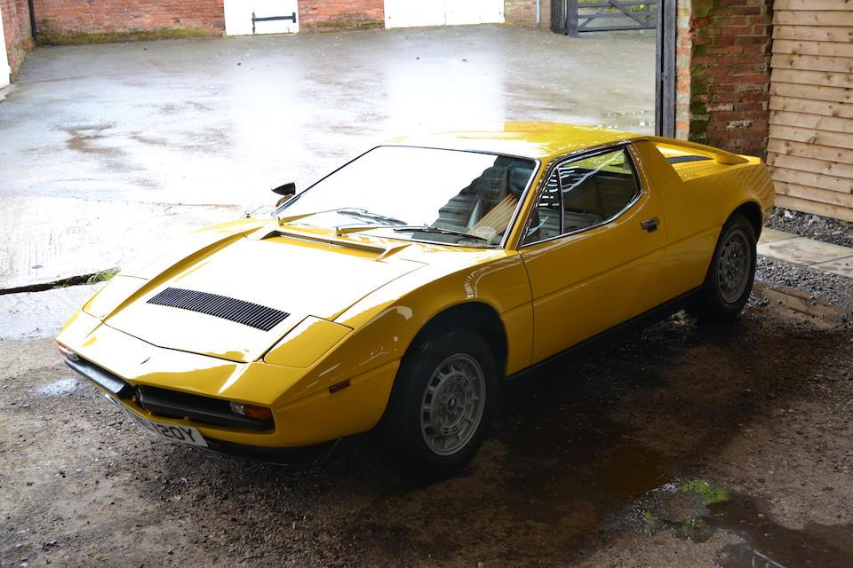 Bonhams : 1982 Maserati Merak SS Coupé Chassis no. AM122A 657 Engine no. 520405