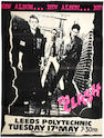 The Clash: A concert poster, 1977,