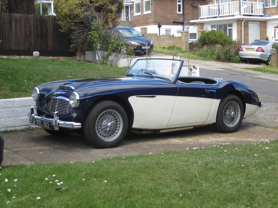 1959 Austin-Healey  100/6 BN2 Roadster  Chassis no. BN6-L/4390 Engine no. 26D-RU-H/75734