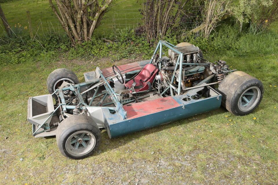 The Ex-Mac Daghorn, Brands Hatch Guards Trophy race,1966 Felday 5 Group 7 Sports-Racing Prototype