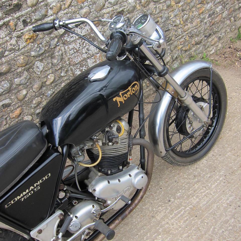 Property of a deceased's estate,1970 Norton 745cc Commando S Frame no. 132630 Engine no. 132630