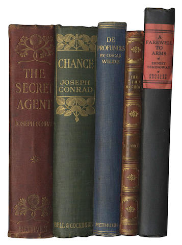 CONRAD (JOSEPH) The Secret Agent, A Simple Tale, 40pp. publisher's advertisements at end dated September 1907, a few foxing marks on first few leaves, Methuen, [1907]; and 17 others, Modern First Editions (18)