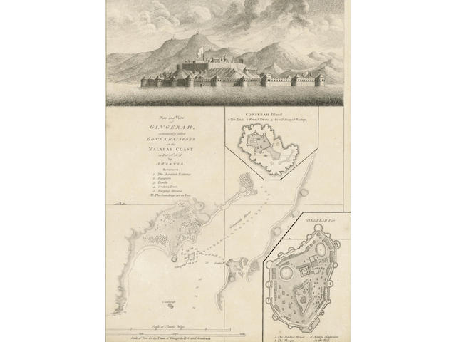 DALRYMPLE (ALEXANDER) A Collection of Plans of Ports in the East Indies, for the Author, 1775, sold as a collection of plates