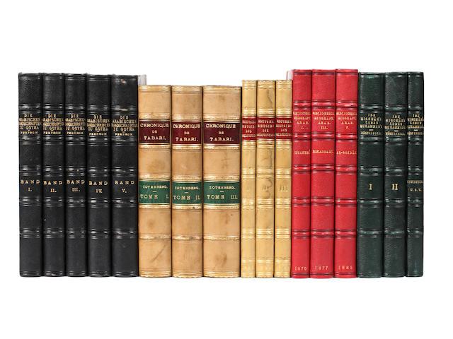PERTSCH (WILHELM) Die Arabischen handschriften der Herzoglichen Bibliothek zu Gotha, 5 vol., 1878; and others (50)