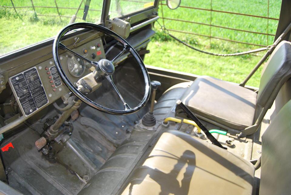 1967 Steyr-Daimler-Puch  Halflinger 4x4  Chassis no. 5358499 Engine no. 5359631