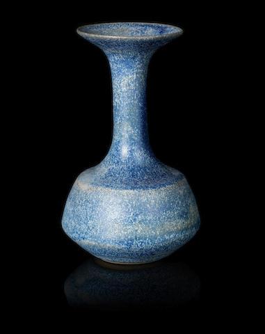 Dame Lucie Rie (Austrian, 1902-1995) An Unusual Bottle Vase, 1967