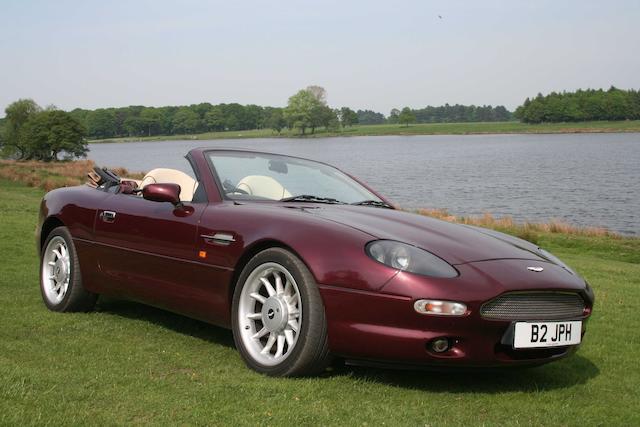 Bonhams Factory Prototype Fev06 1995 Aston Martin Db7 Volante Convertible Chassis No Scfaa3112fev06 Engine No Am10100023
