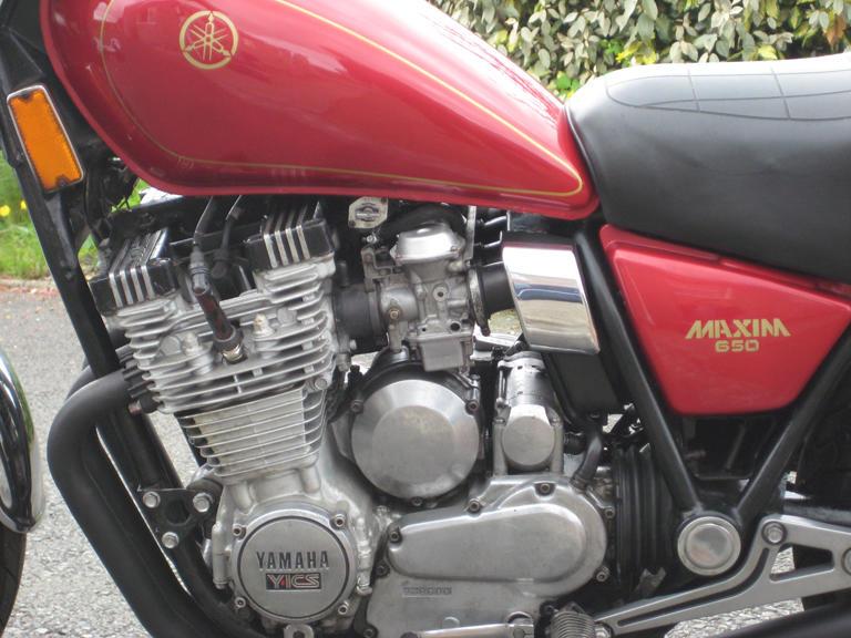 Yamaha XJ650 Maxim Frame no. JYA5N800XCA006291 Engine no. 5N8006291