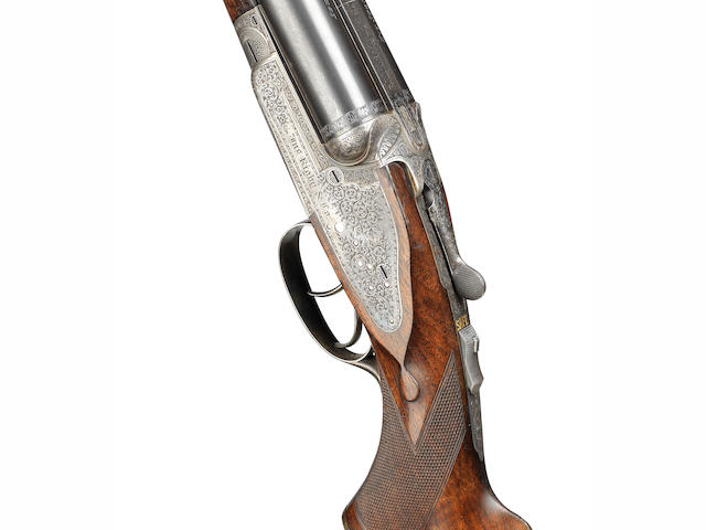 A fine .470 sidelock ejector rifle by J. Rigby, no. 17503