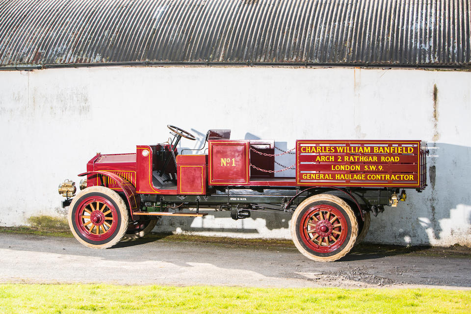 1919 Garford Model 25 Open Back Lorry  Chassis no. 25770 Engine no. 80635