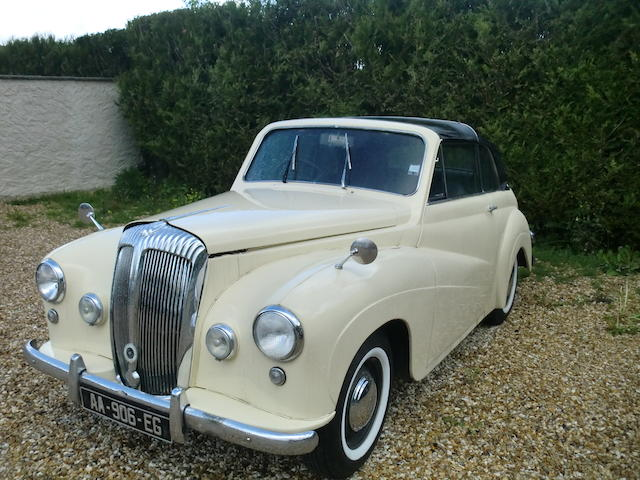 c.1956 Daimler Conquest Century Drophead Coupé  Chassis no. D87650