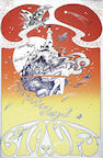 Psychedelia / Pink Floyd: Two posters by Hapshash And The Coloured Coat, 2