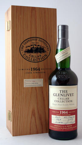 The Glenlivet Cellar Collection-1964