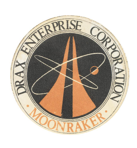 James Bond: Moonraker, a Drax patch, Eon / United Artists, 1979,