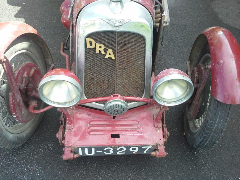 1937,DRA 9hp Sports Special  Chassis no. 1100 Engine no. 10598