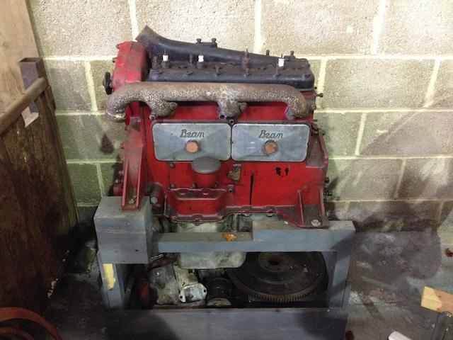 Bean 14hp 4-cylinder engine