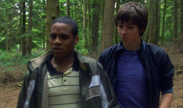 The Sarah Jane Adventures, Series 1, Episode 4 'Eye of the Gorgon': Tommy Knight as Luke, a costume, 2007, 3