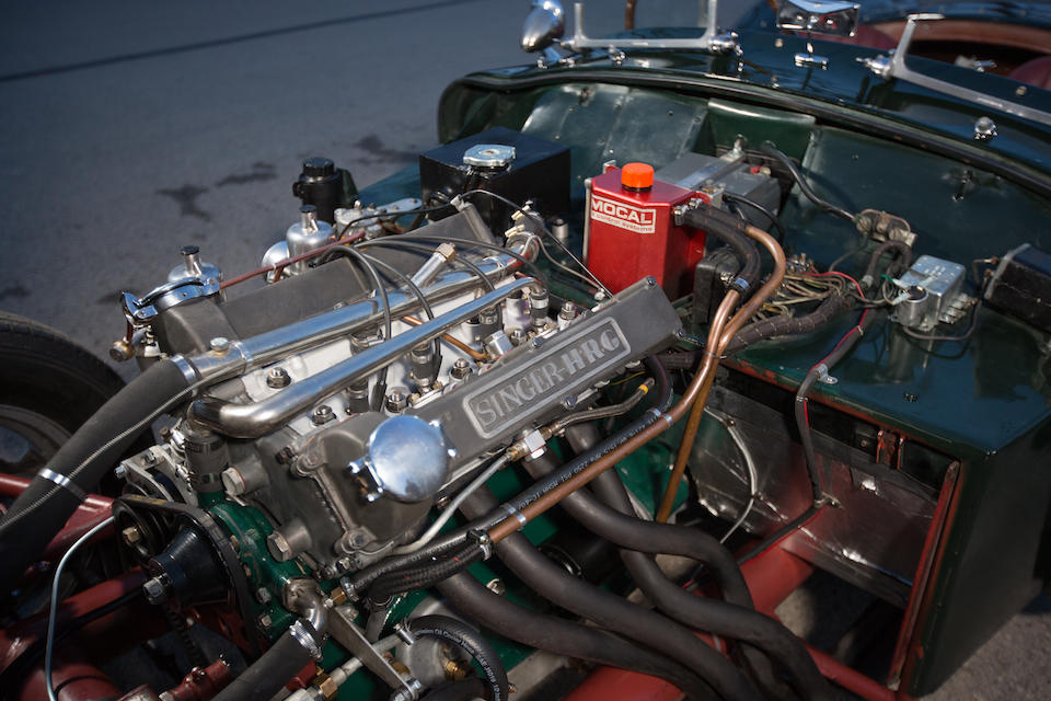 1956 HRG Twin Cam Roadster  Chassis no. 1N502TL Engine no. 47600451
