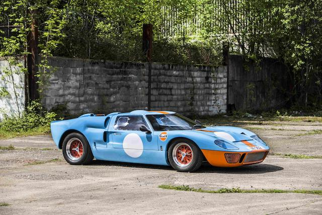 1992 Ford GT40 Coupé Replica by GT Developments  Chassis no. GTD40 28891 Engine no. OH504883