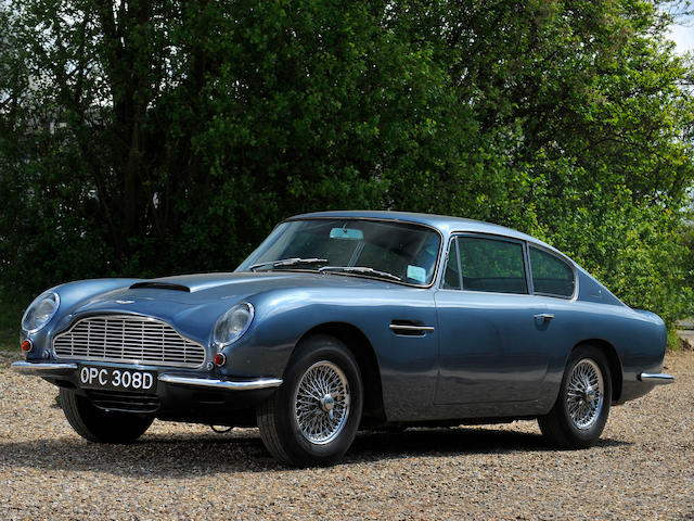 1966 Aston Martin DB6 MkI Saloon  Chassis no. DB6/2563/R Engine no. 400/2461