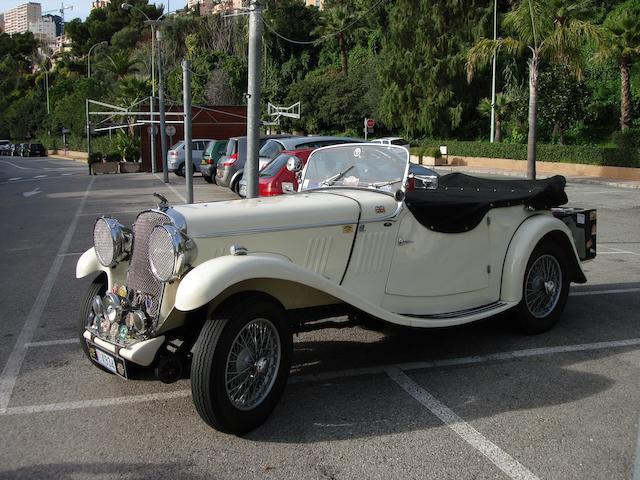 1933/1934 Singer 1½-Litre (2-Litre) Le Mans Sports  Chassis no. 2175 Engine no. O/V522