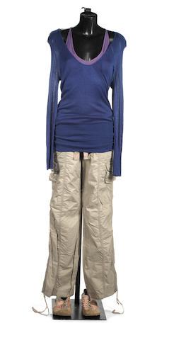 Torchwood, Series 2 'Sleeper': Nikki Amuka-Bird as Beth Halloran, a complete costume, 2008, 4
