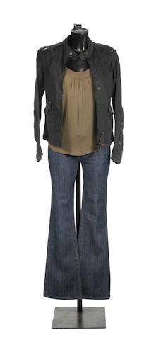 Torchwood, Series 2, Episode 11 'Adrift': Eve Myles as Gwen Cooper, a costume, 2008, 3