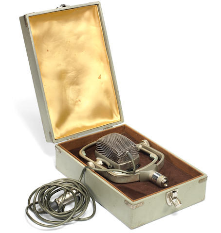The Jimi Hendrix Experience: An AKG D25 microphone,