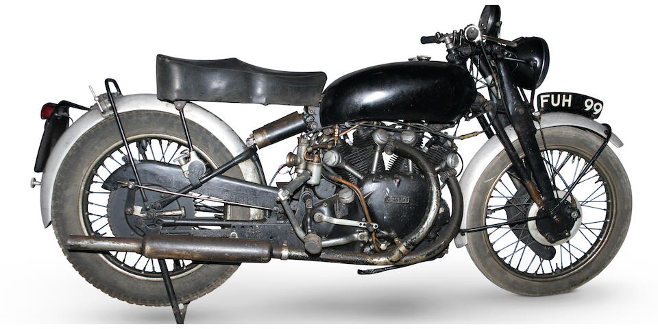1951 Vincent 998cc Black Shadow Frame no. RC/8948B/C Engine no. F10/AB/1B/7048