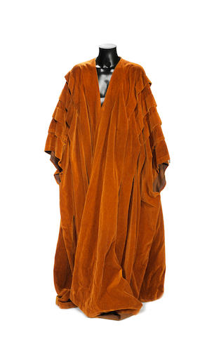 Doctor Who: The Deadly Assassin, 1976, a Time Lord robe,